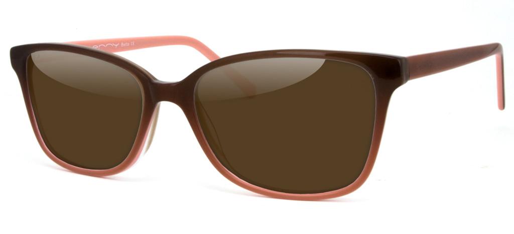Damensonnenbrille Betta braun