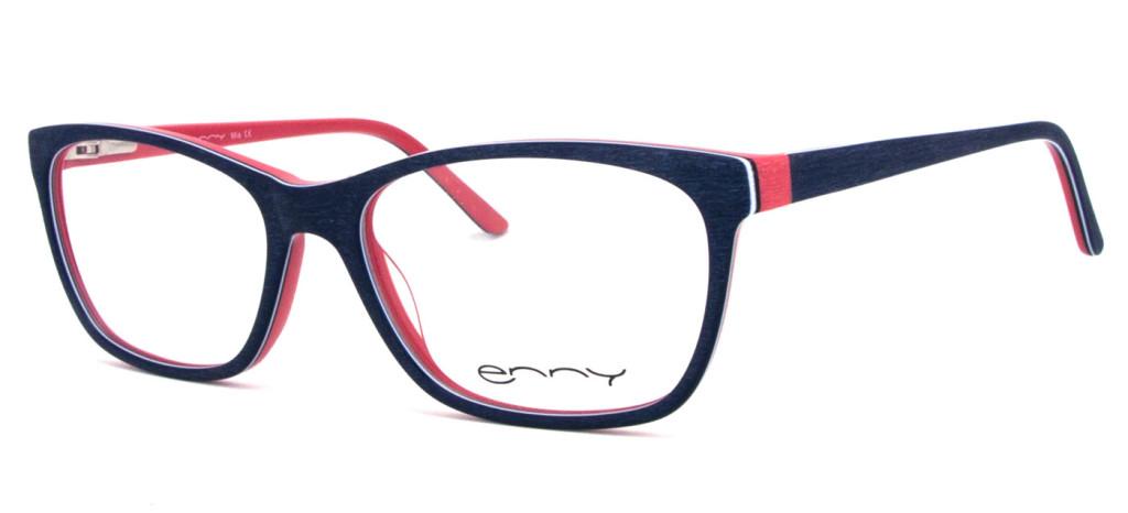 Kinderbrille Mia blau rot