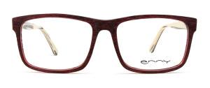 Damenbrille Brando weinrot